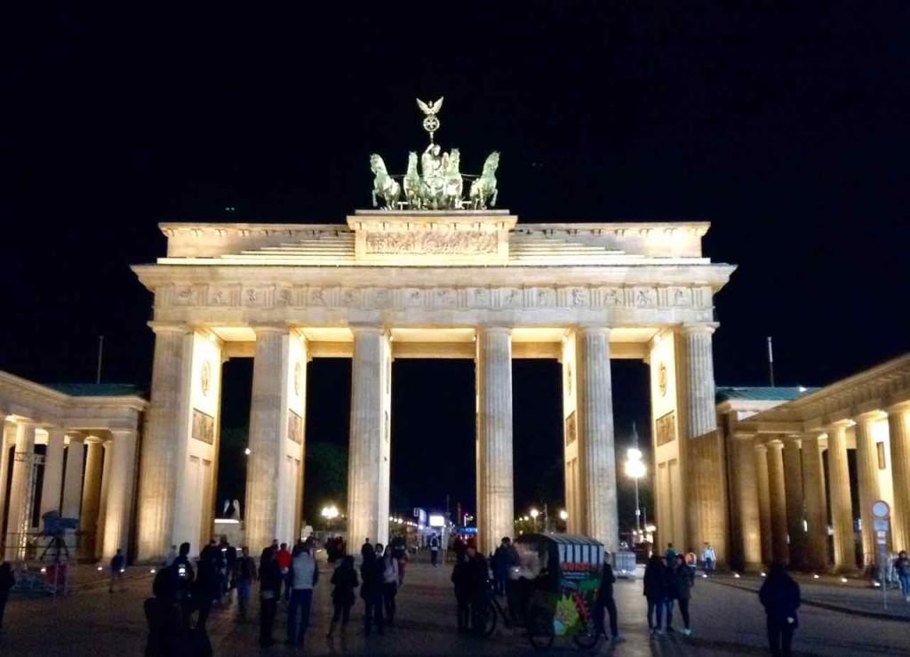 Berlin Gourmet Liner, Stadtrundfahrt, Brandenburger Tor