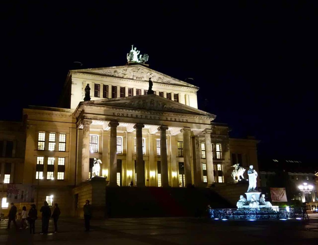 Berlin Gourmet Liner, Stadtrundfahrt, Konzerthaus am Gendarmenmarkt