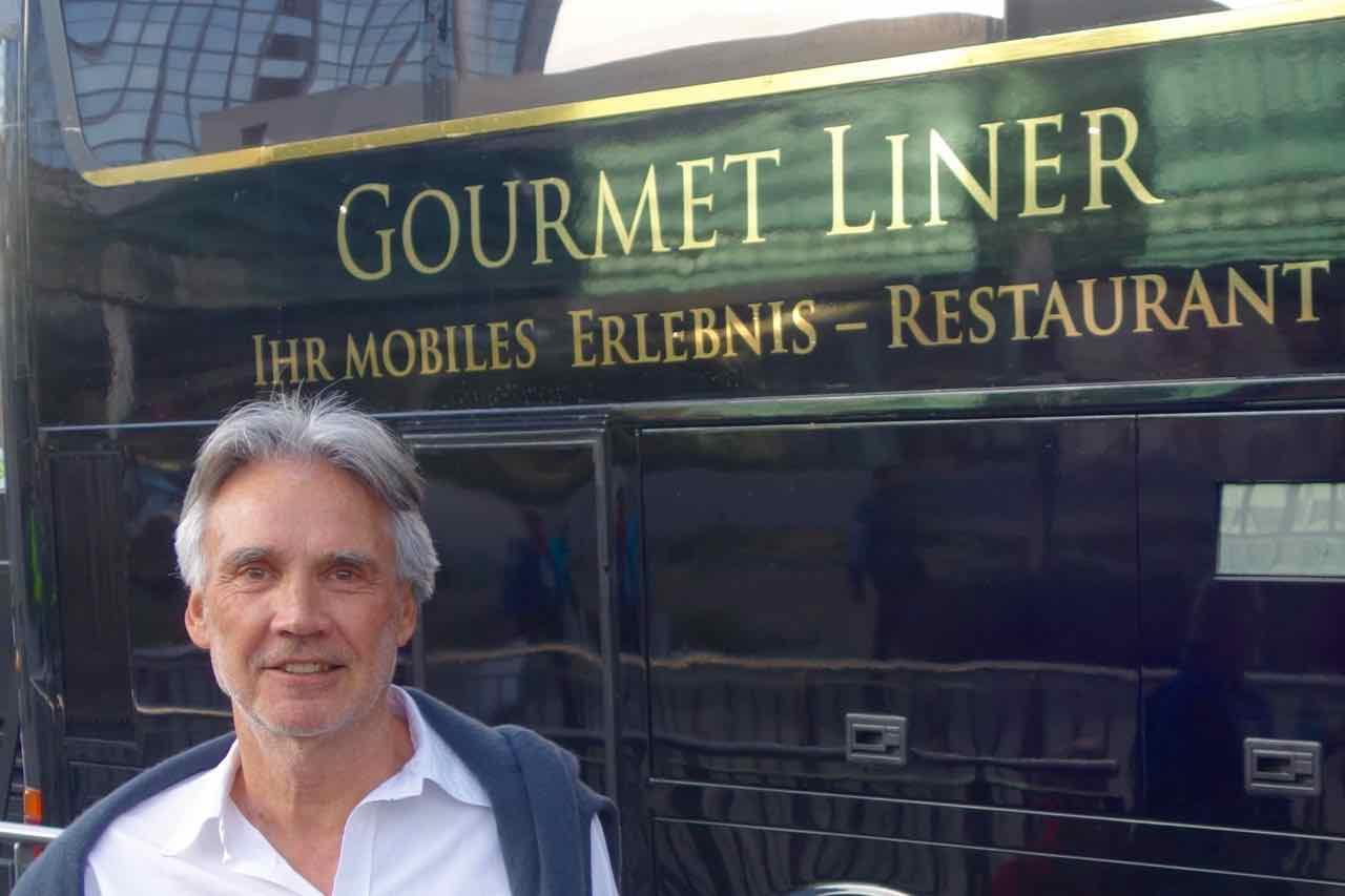Berlin Gourmet Liner, Stadtrundfahrt
