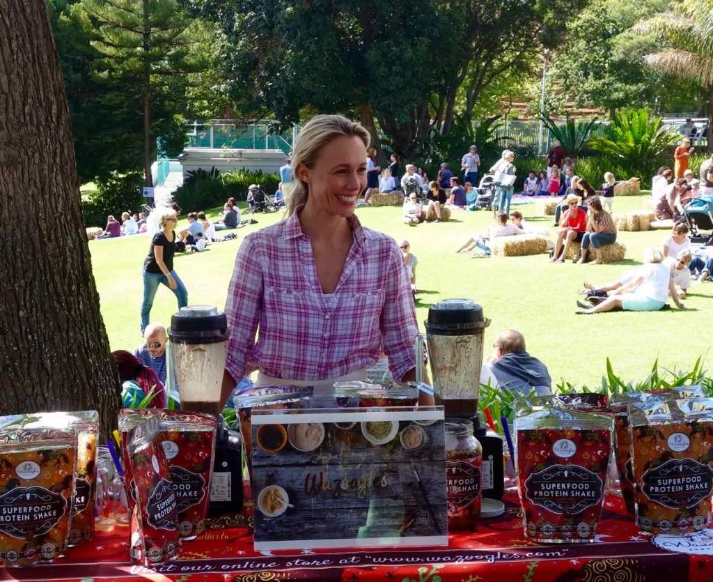 Kapstadt Food Market, Oranjezicht City Farm Market, frische Smoothies
