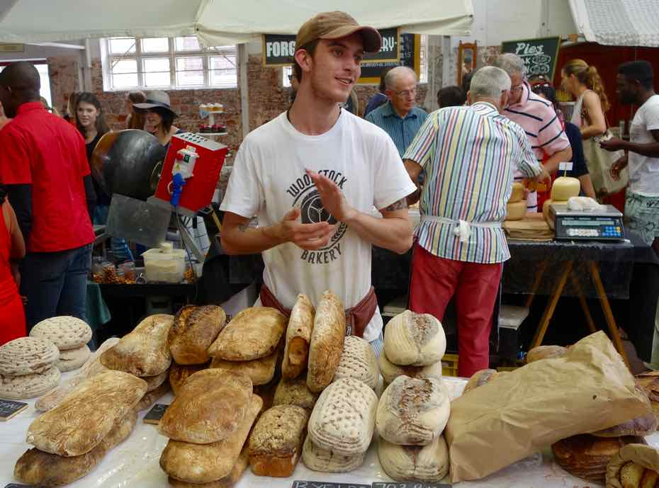 Kapstadt Foodmarket, Neighbourgoods Market, Brotsorten 1