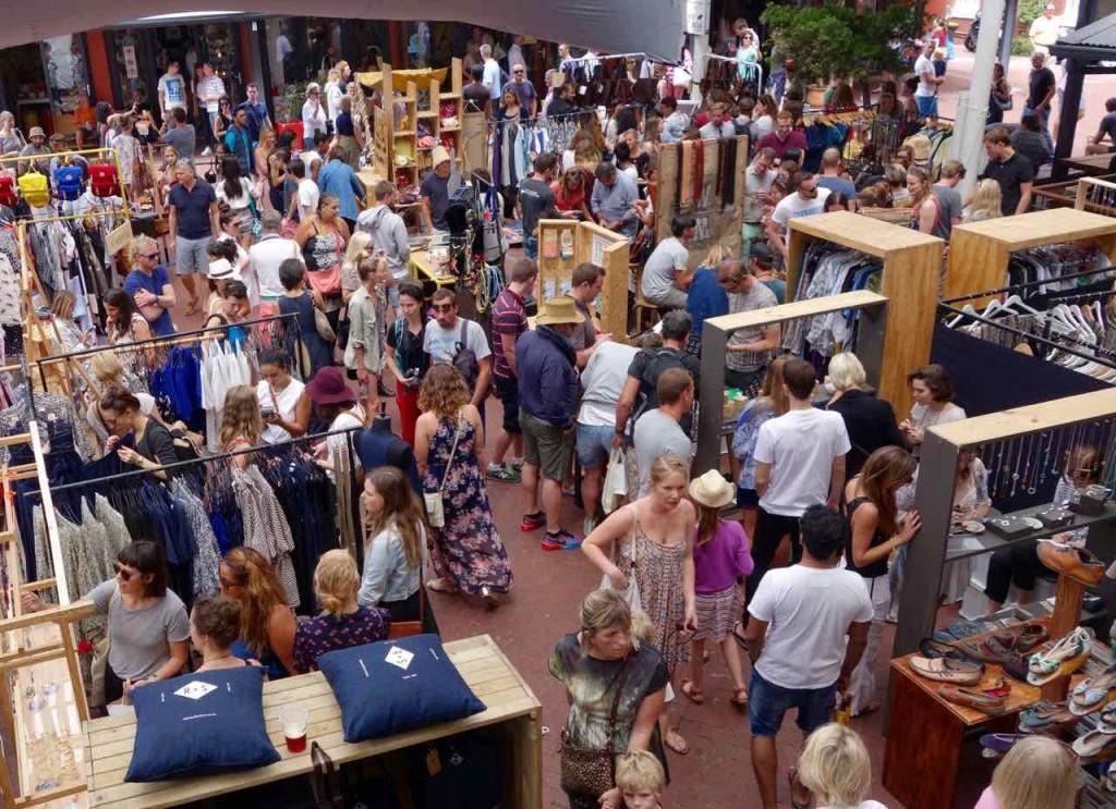 Kapstadt Foodmarket, Neighbourgoods Market, Kunstgewerbe und Designer 1