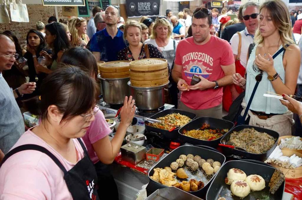 Kapstadt Foodmarket, Neighbourgoods Market, asiatische Küche 1