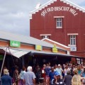Kapstadt Foodmarket, Neighbourgoods Market in The Old Biscuit Mill, Eingang, Titelbild
