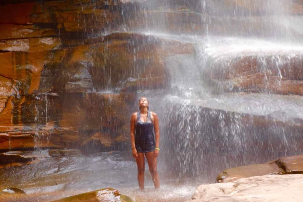 Lencois Chapada Diamantina - Highlights, Wasserfall Cachoeira do Mosquito,