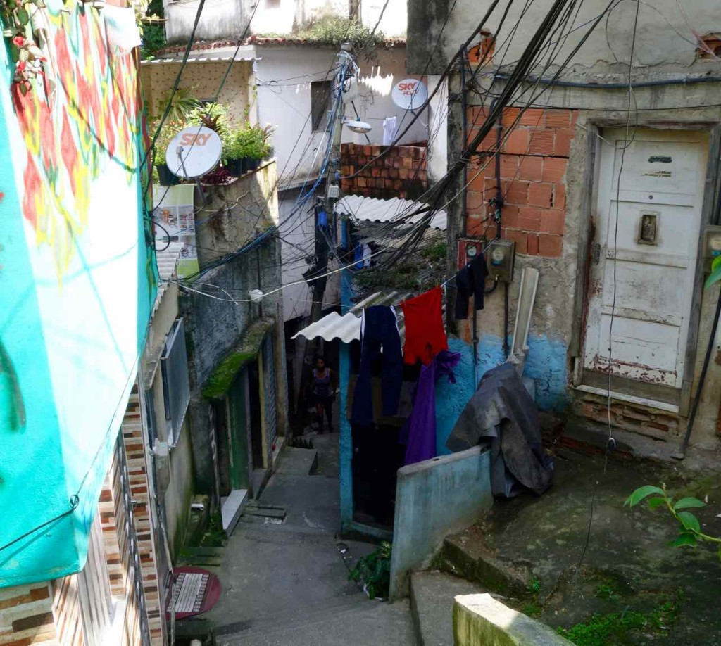 Favela Vidigal Rio de Janeiro, Gasse 1