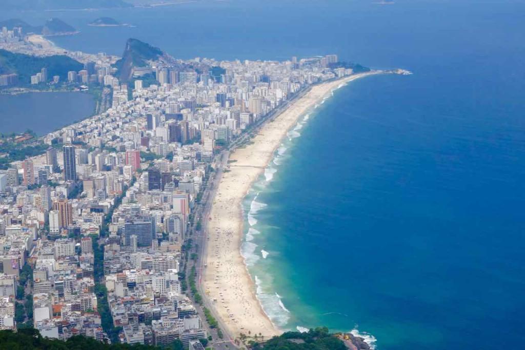 Rio de Janeiro Dois Irmaos, Blick auf Ipanema 1