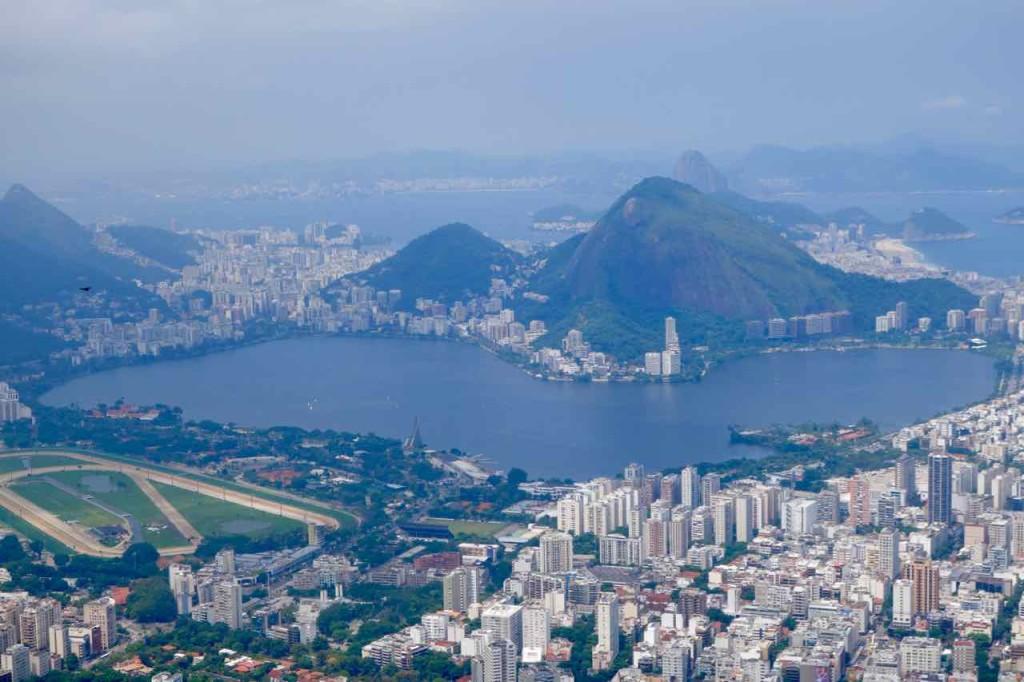 Rio de Janeiro Dois Irmaos - Zwei Brüder, Blick zur Lagune