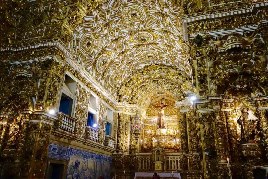 Salvador da Bahia Tipps, Igreja do Sao Francisco, Decke 2
