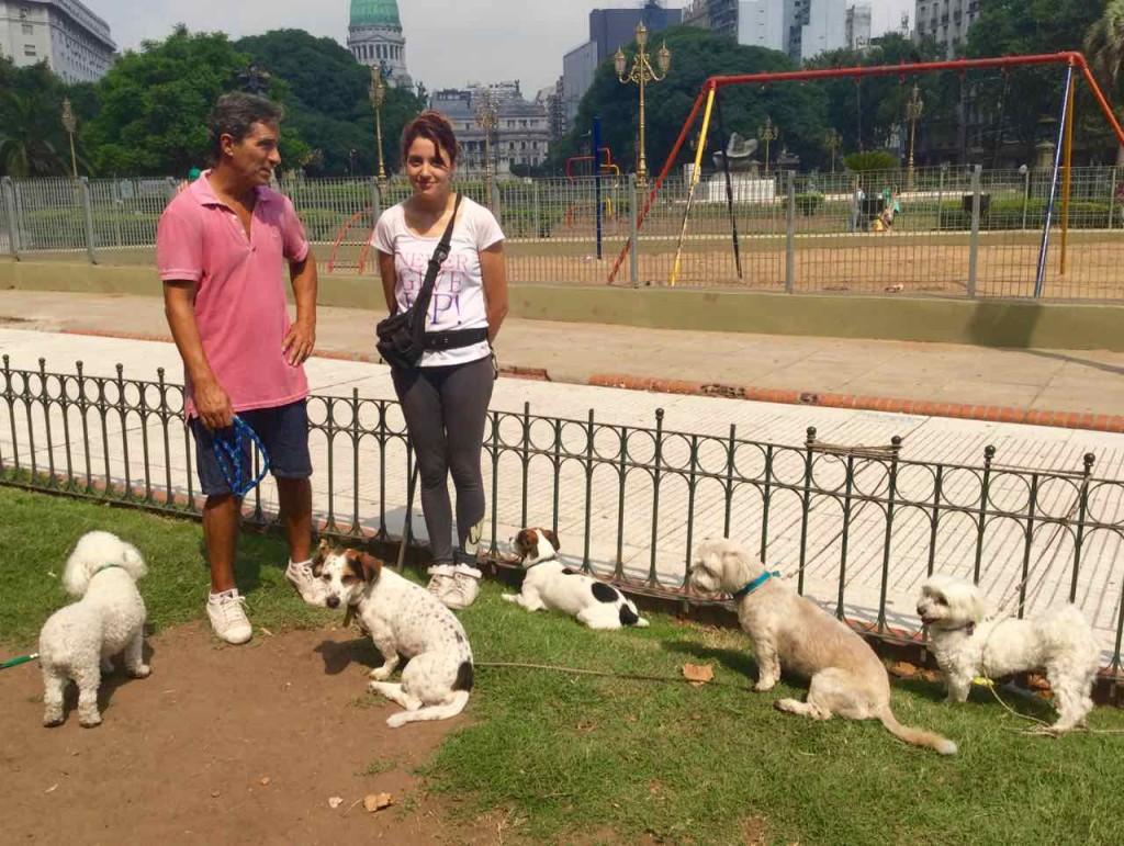 Buenos Aires Hunde im Park