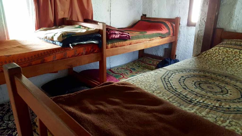 Cabo Polonio Uruguay, Dorm einer typischen Unterkunft, Foto Niels Skovgaard