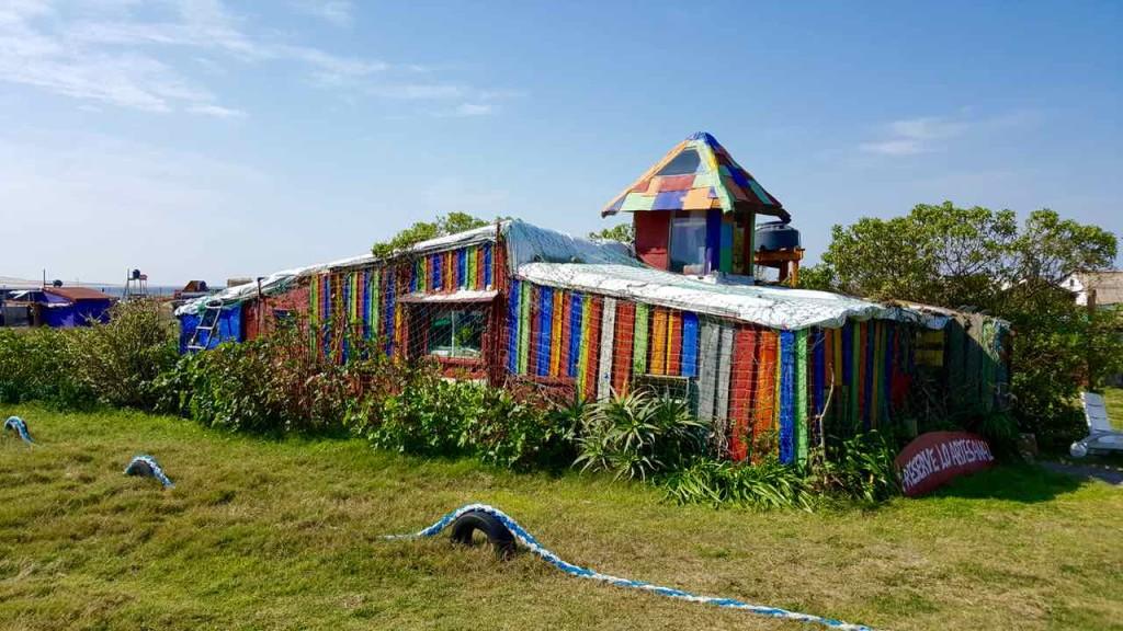 Cabo Polonio Uruguay, Buntes Haus, Foto Niels Skovgaard