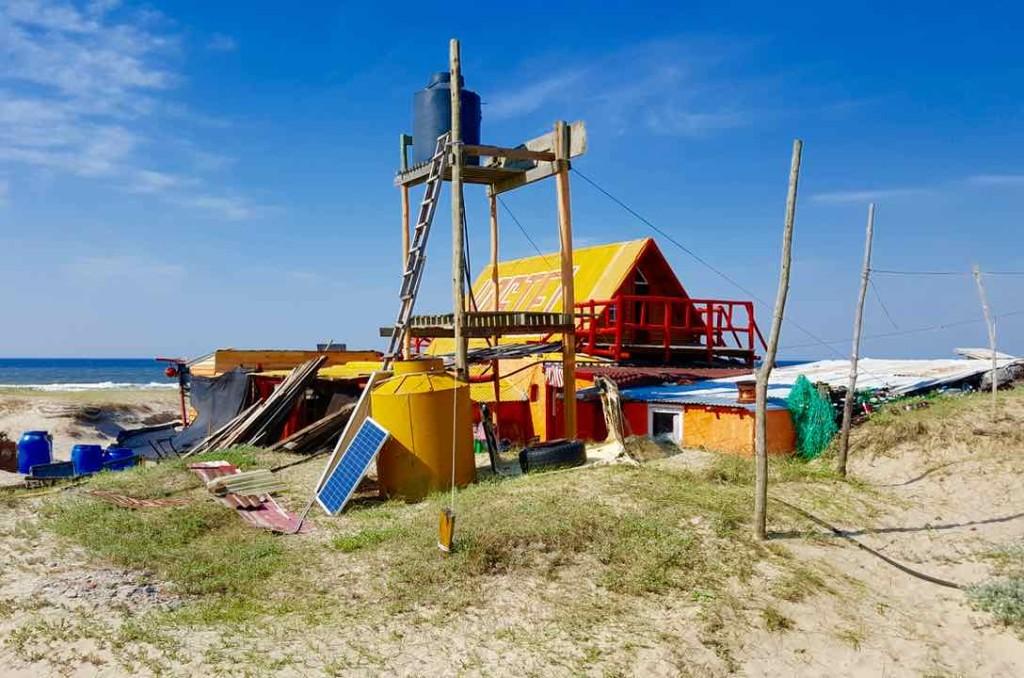 Cabo Polonio Uruguay, Gelbes Haus, Foto Niels Skovgaard