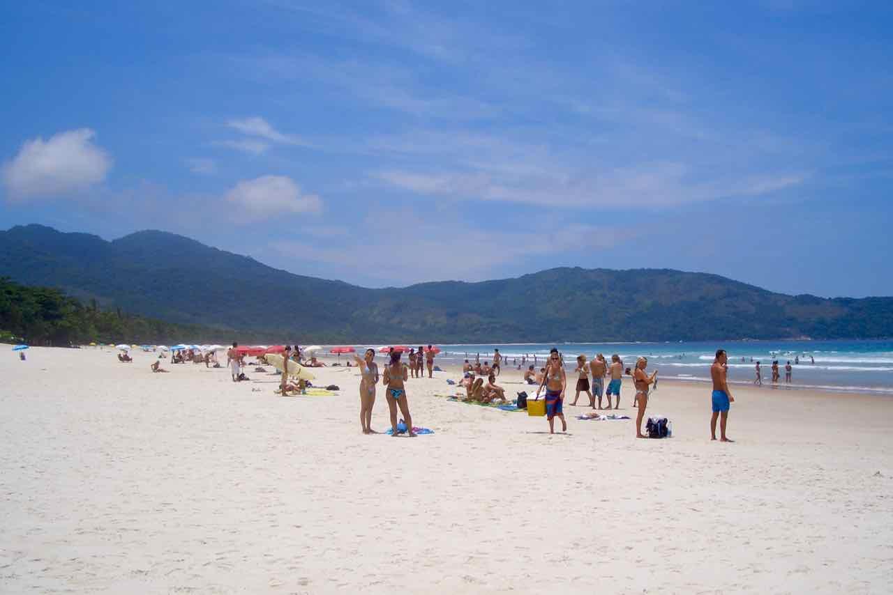 Ilha Grande Brasilien, Strand Mendes Lopez, Titelbild