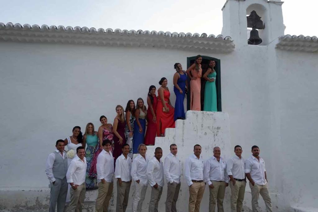 Trancoso Tipps Brasilien, Hochzeitsfoto mit Kirche