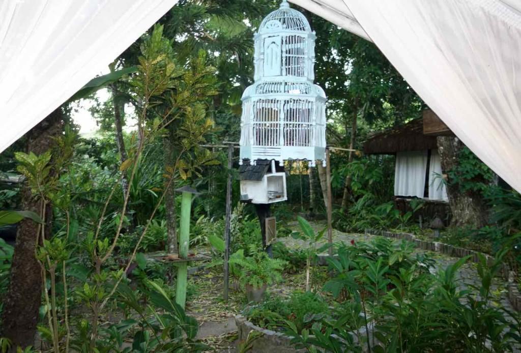 Trancoso Tipps, Pousada Calypso, Garten