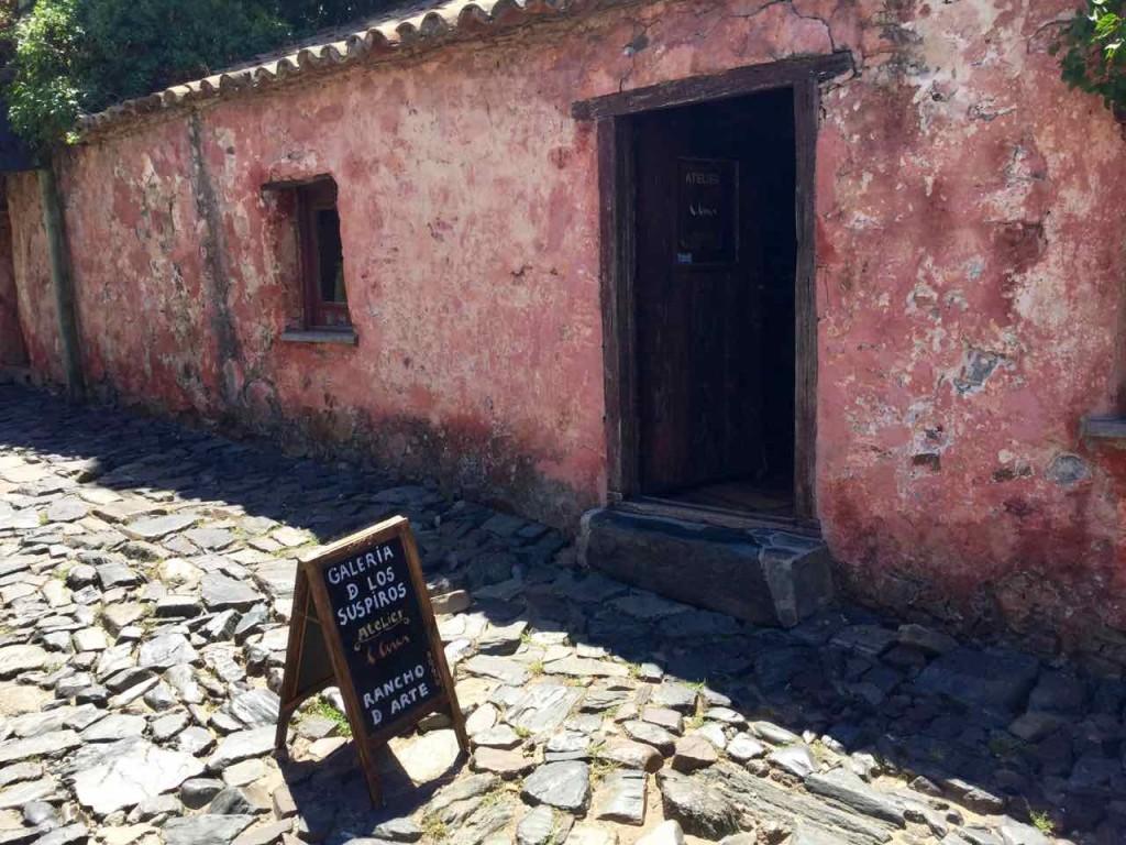 Colonia, Uruguay, Galeria de los Suspiros, iPod-Foto