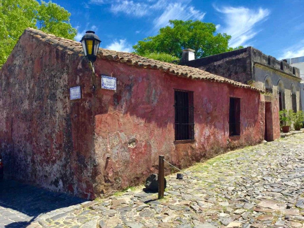 Colonia Uruguay, Rotes Haus, iPod-Foto