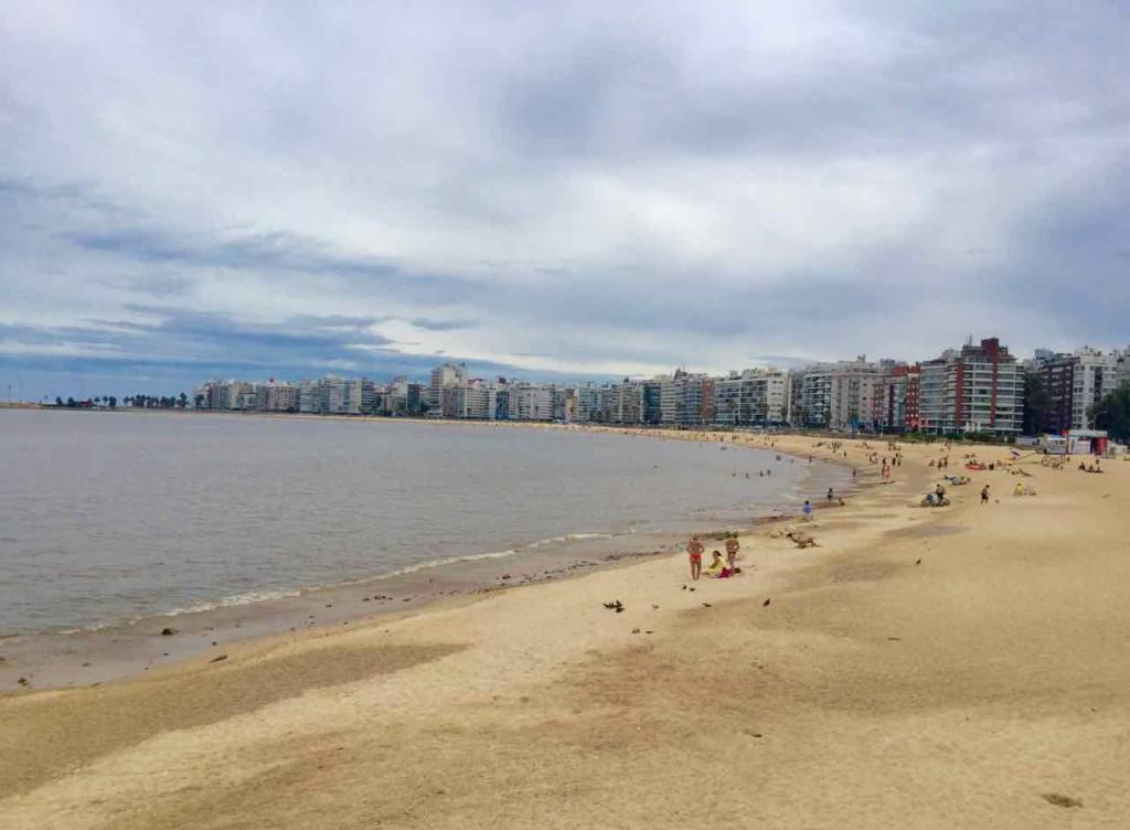 Montevideo Sehenswürdigkeiten, Playa Pocitos, Uruguay, iPod-Foto