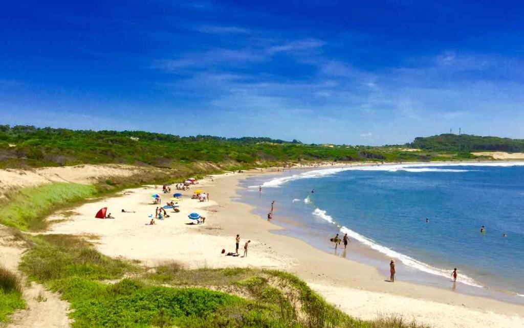 Punta del Diablo Strand, Playa Grande 1 Uruguay