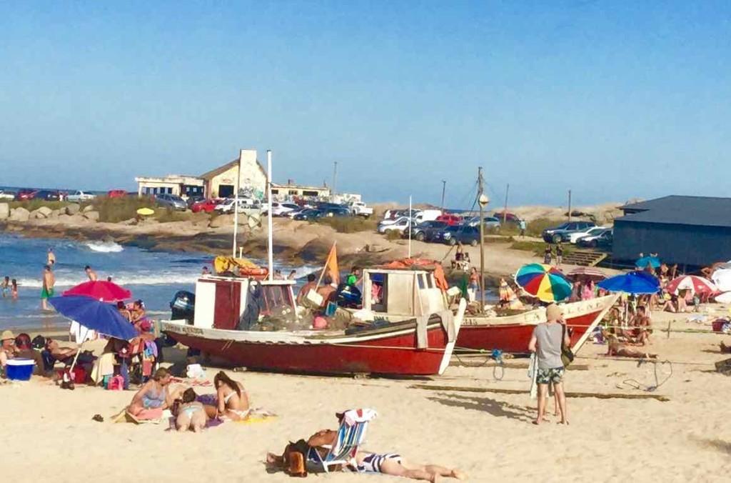 Punta del Diablo Strand, Playa de los Pescadores 1, Uruguay, iPod-Foto