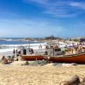 Punta del Diablo Strand Playa de los Pescadores, Uruguay