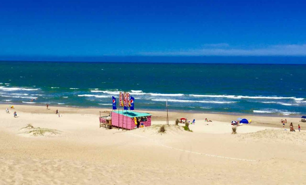 Punta del Diablo Strand, Playa del Rivero, Uruguay, iPod-Foto