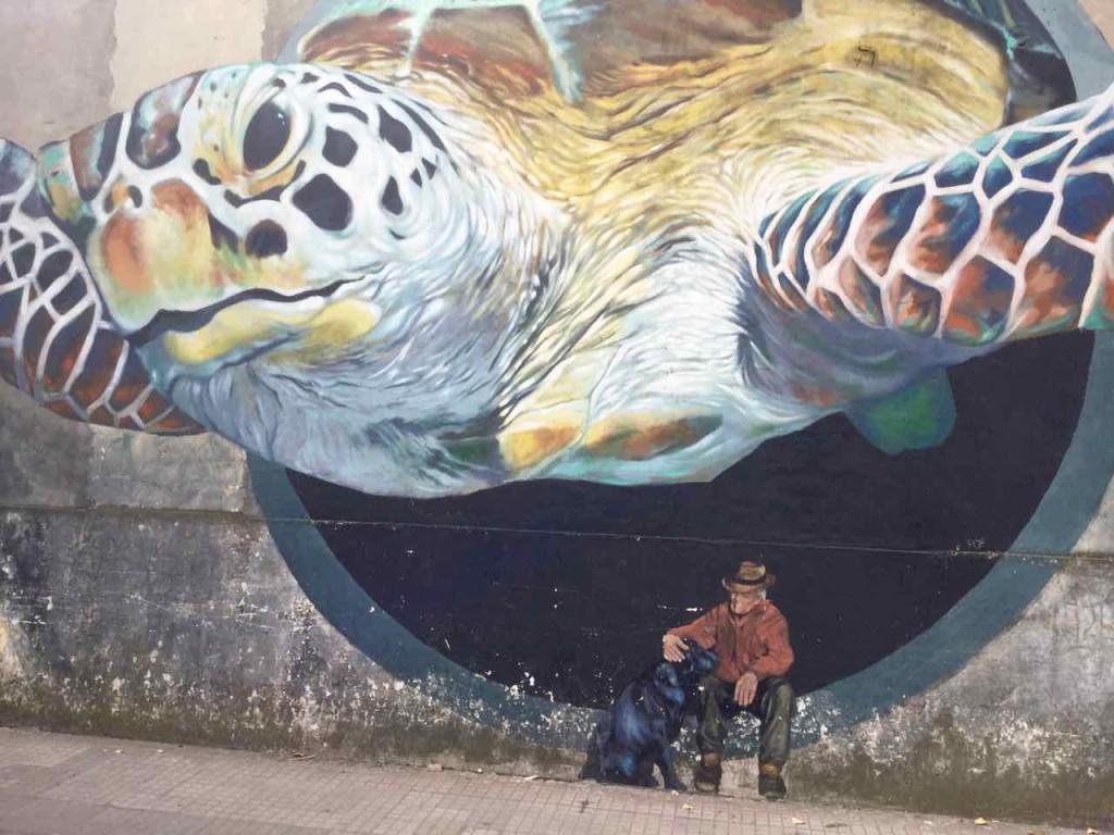 Buenos Aires Street Art in Barracas, Artist: Martin Ron (Argentinien),
