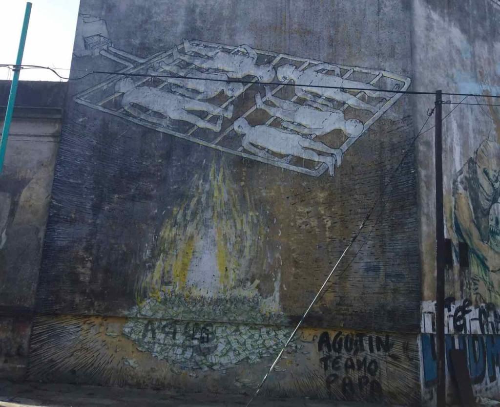 Street Art in La Boca, Artist: Blu