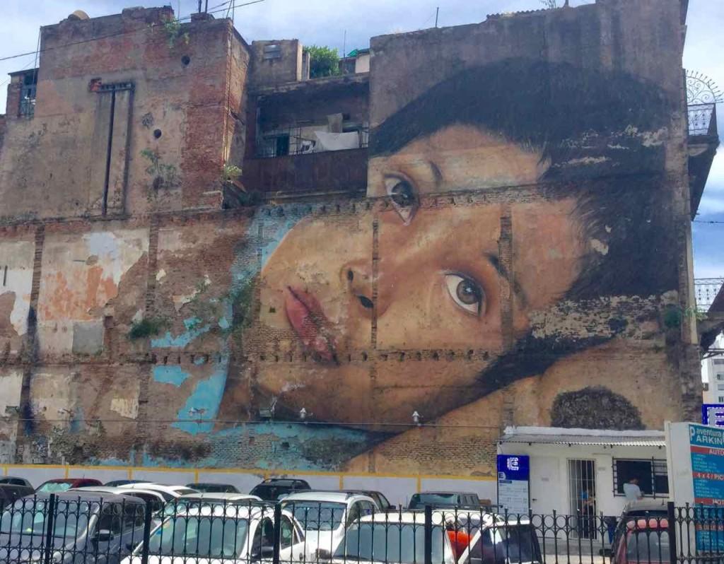 Buenos Aires Street Art in San Telmo, Artist: Jorge Rodriguez-Gerada