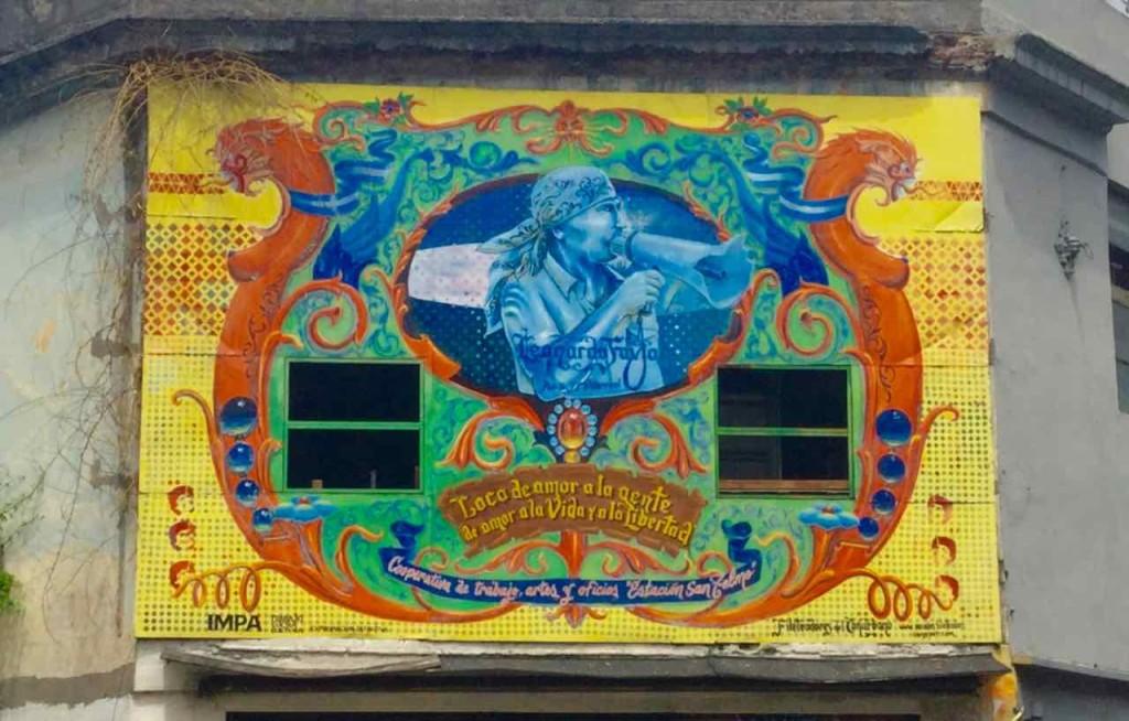 Buenos Aires Street Art in San Telmo, © PetersTravel.de, iPod-Foto
