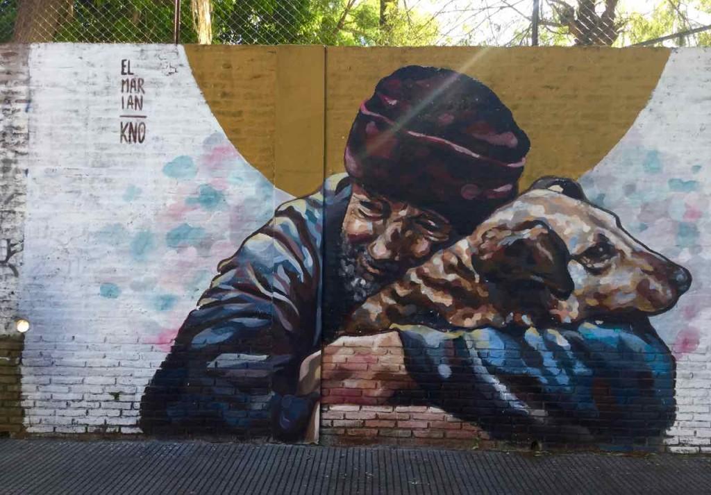 Buenos Aires Street Art, Artist: El Marian,