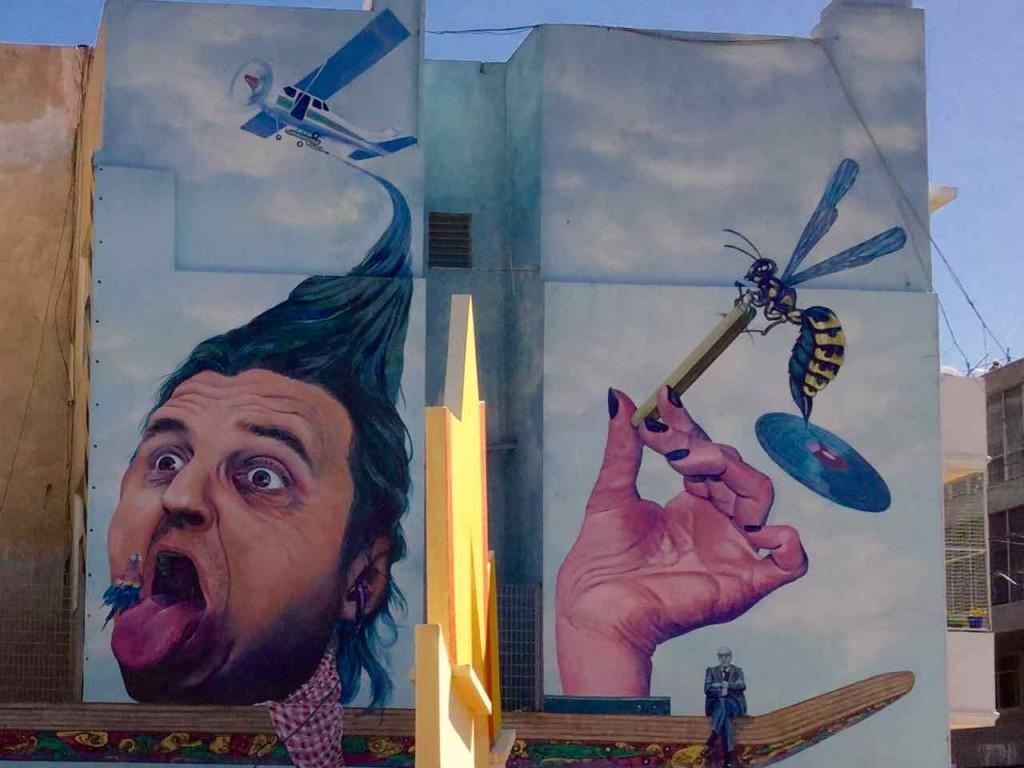 Buenos Aires Street Art, Detail 2, Artist: Martin Ron, Titelbild