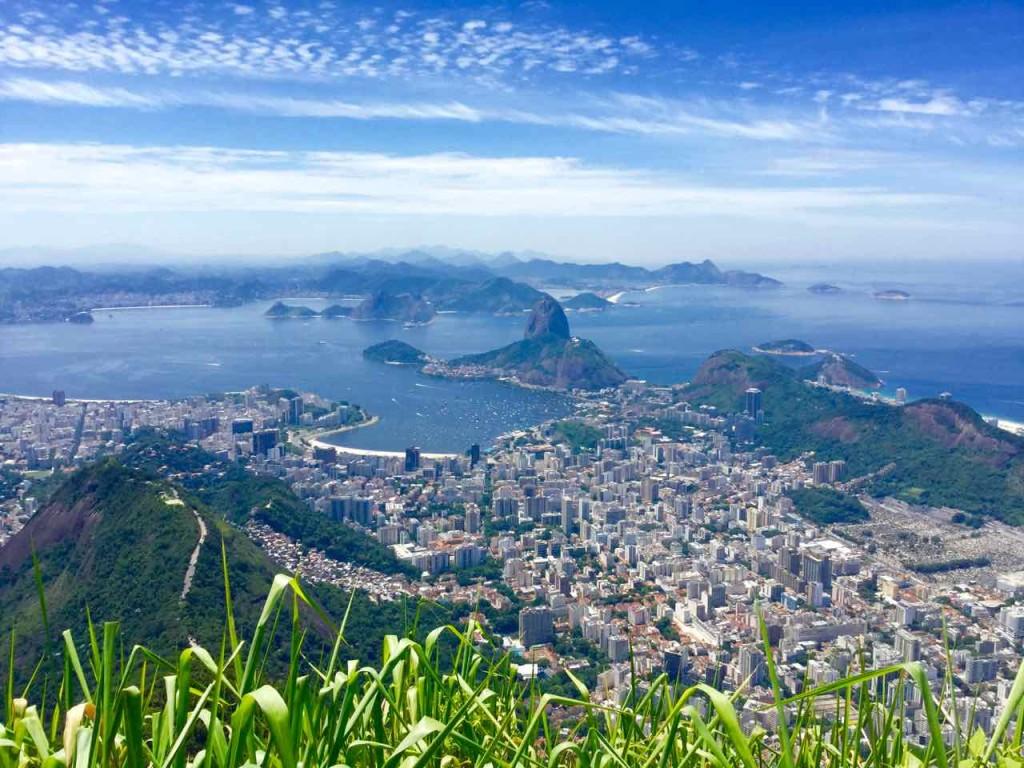 Christo Redentor Rio de Janeiro, Aussicht, Brasilien, iPod-Foto