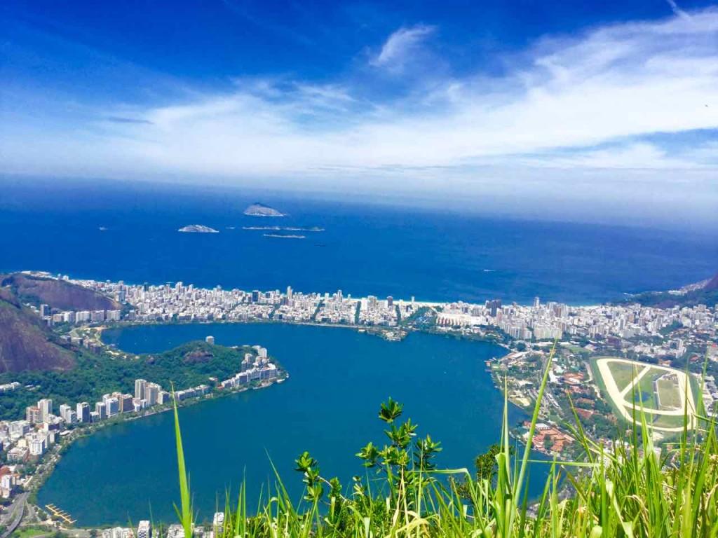 Christo Redentor Rio de Janeiro, Aussicht zur Lagune, Brasilien, iPod-Foto