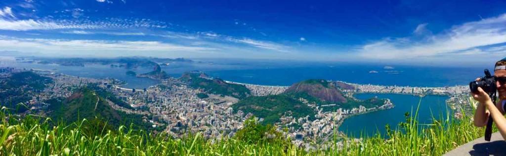 Christo Redentor Rio de Janeiro, Panorama, Aussicht, Brasilien,
