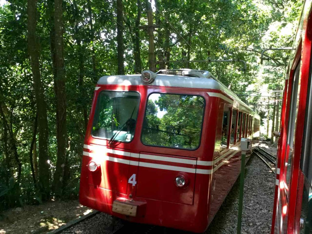 Christo Redentor Rio de Janeiro, Zahnradbahn, Brasilien, iPod-Foto