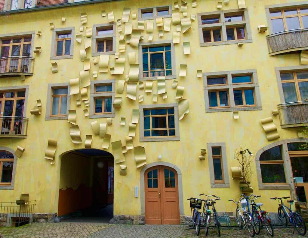 Dresden Tipps,, Äußere Neustadt, Kunsthofpassage, Gelbes