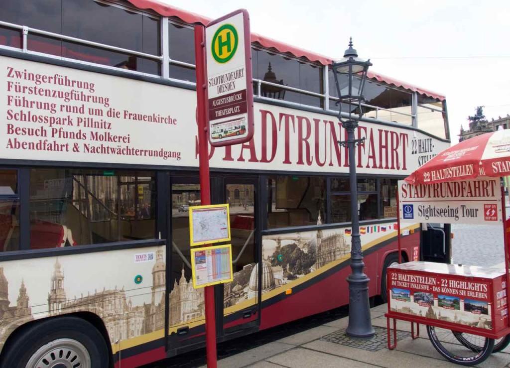 Dresden Tipps, Bus/Stadtrundfahrt zu den Sehenswürdigkeiten