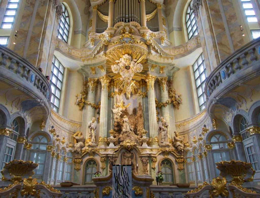 Dresden Tipps, Frauenkirche innen, Sehenswürdigkeiten
