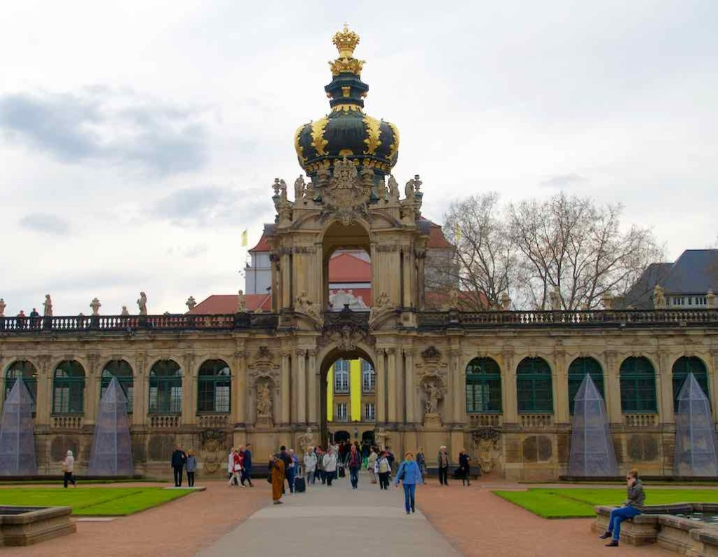 Dresden Tipps, Zwinger, Kronentor