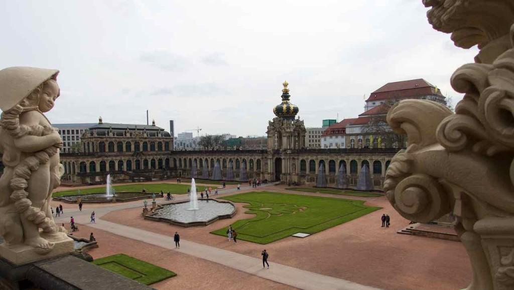 Dresden Tipps, Zwinger, mit Kronentor