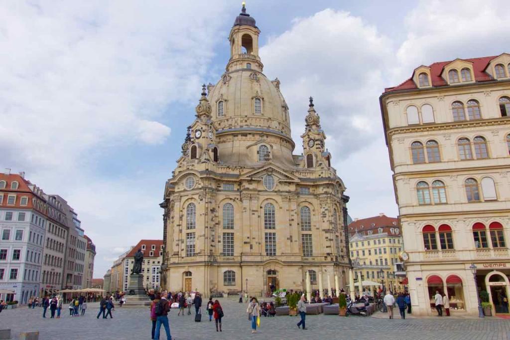 Dresden Sehenswürdigkeiten: All die Häuser rund um die Frauenkirche sollen neu sein? Ich will es gar nicht glauben!