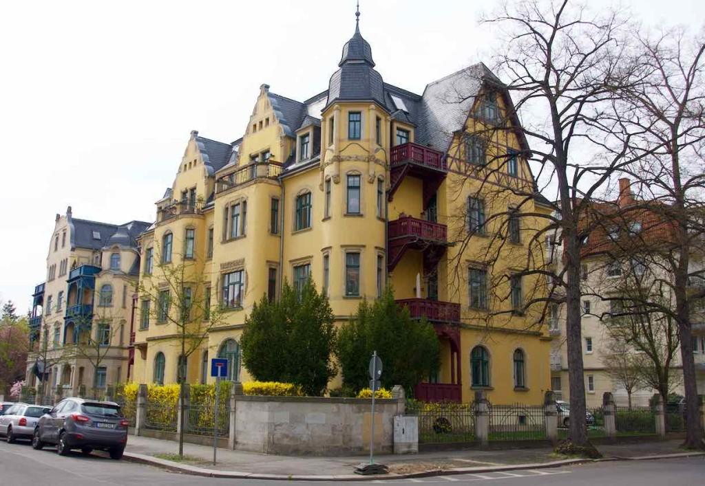 Dresden Sehenswürdigkeiten, Gründerzeithaus