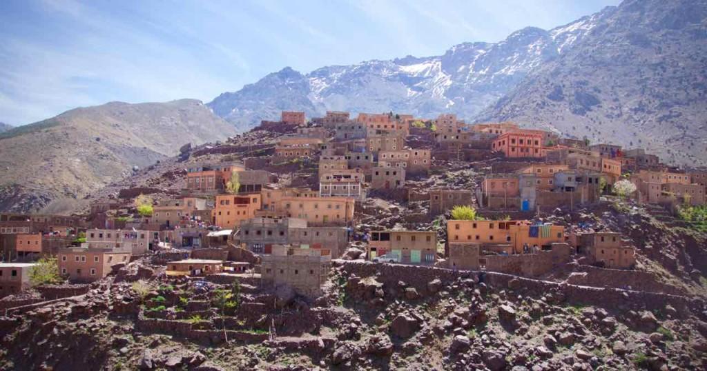 Kasbah du Toubkal Imlil Tal, Dorf Armed, Marokko