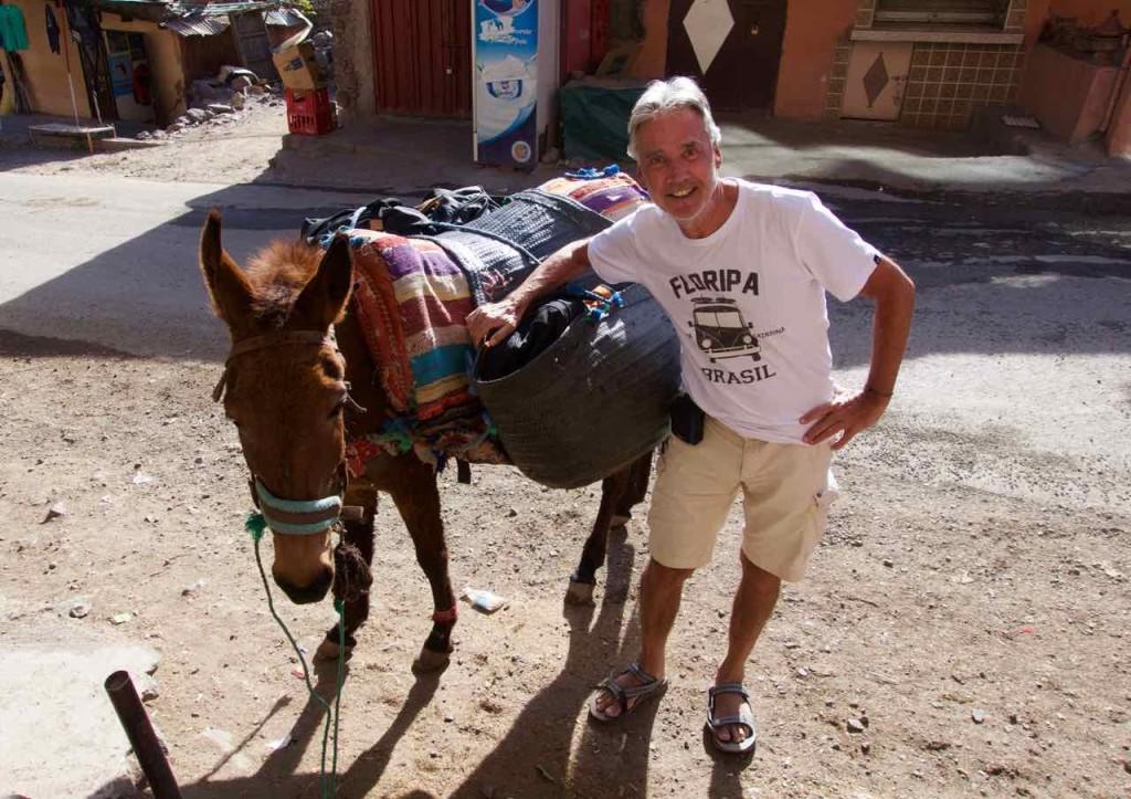 Kasbah du Toubkal Imlil Tal, PP mit Maultier, Marokko