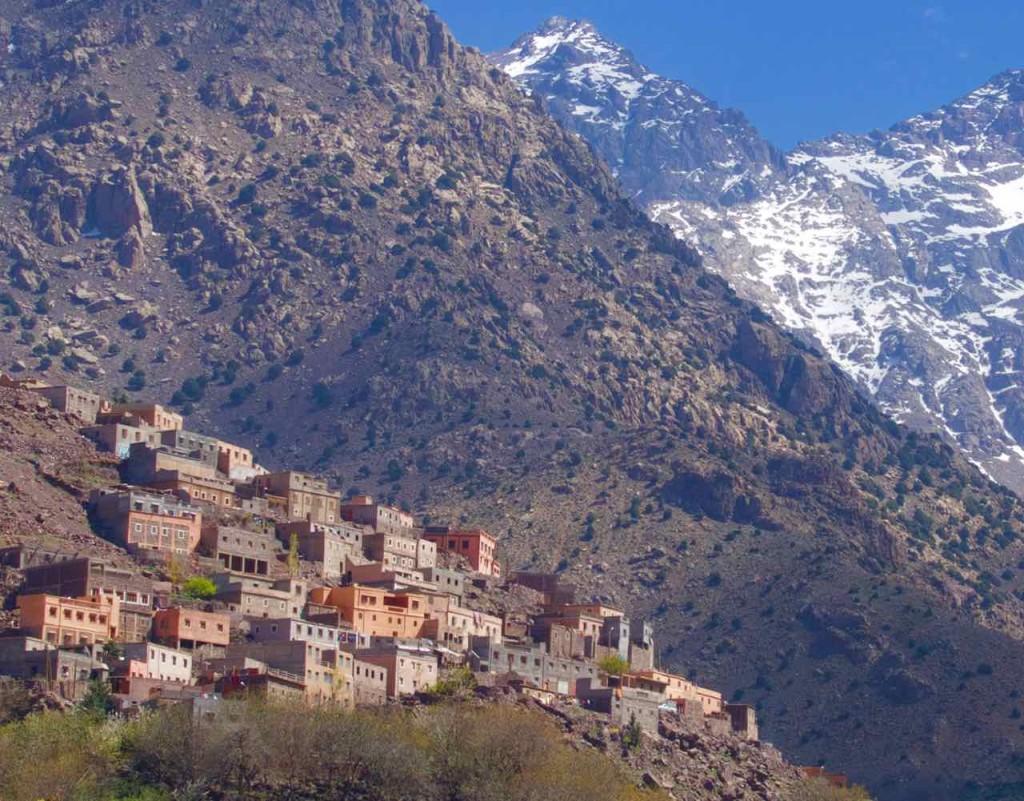 Kasbah du Toubkal Imlil Tal, Gegenüberliegender Ort Armed, Marokko