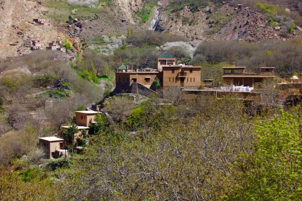 Kasbah du Toubkal im Imlil Tal, groß, Marokko