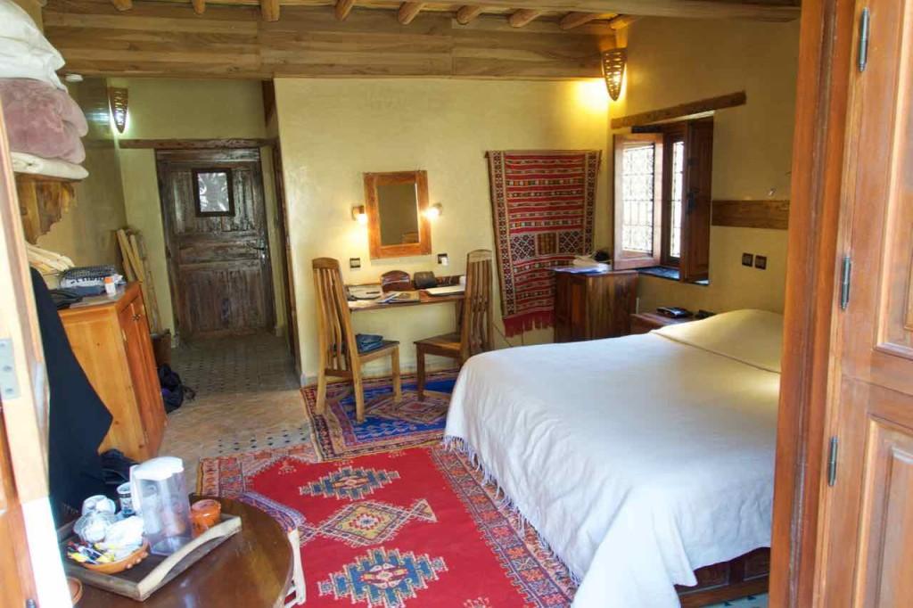 Kasbah du Toubkal Imlil Tal, Mein Zimmer Marokko