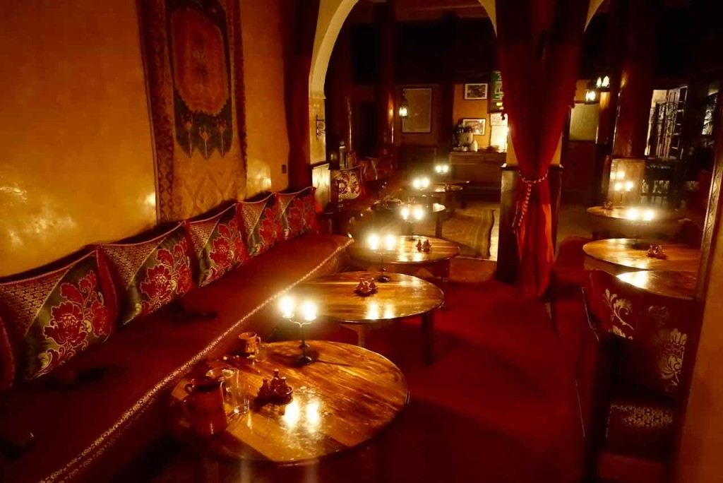 Kasbah du Toubkal Imlil Tal, Vor dem Abendessen, Marokko